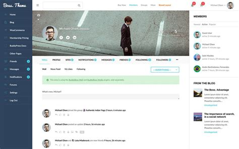 Top Ten Wordpress Theme For Bbpress Forum And Community