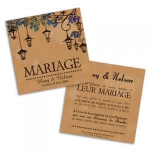 papier faire part mariage faire part mariage lanternes