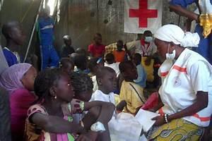 S U00e9n U00e9gal  Aide Aux Enfants Perdus Lors Du Magal De Touba