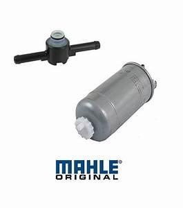 Oem Fuel Filter  U0026 Fuel Filter Return Valve Kit Vw Tdi 1 9l
