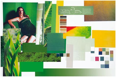 luggage brief branding mood board for louis vuitton and sony