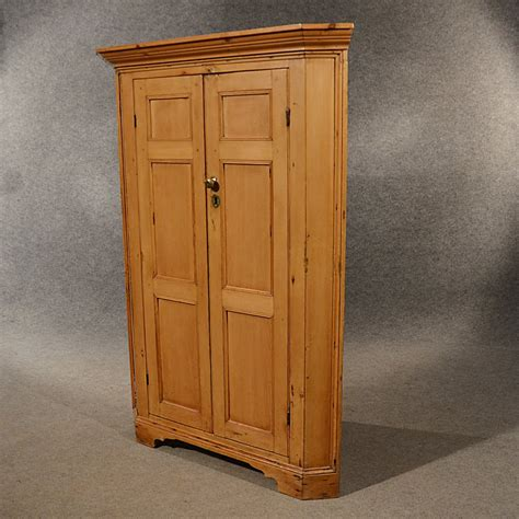 Antique Cupboard by Antique Pine Corner Cabinet Cupboard Larder Antiques Atlas