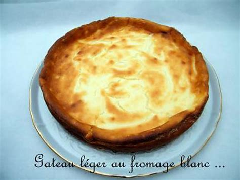 recette d ooo gateau l 233 ger au fromage blanc ooo