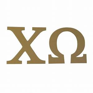 chi omega 75quot unfinished wood letter set ebay With axo wooden letters