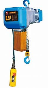 2 Ton Electric Chain Hoists Ehb Type With Overload Limiter