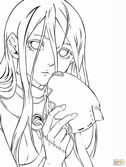 Coloring Anime Manga Wonderland Deadman Ausmalbilder Malvorlagen