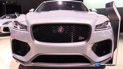 jaguar  pace svr exterior  interior walkaround