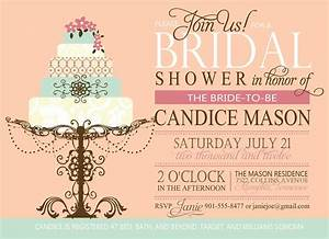 bridal shower invitation custom printable digital With wedding shower invite