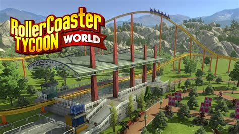 world roller coaster rollercoaster tycoon world launches in early access on
