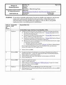 Simple Procedures Manual Template  U2013 Teplates For Every Day