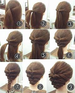 Easy hairstyles for long hair to do at home step by step ...