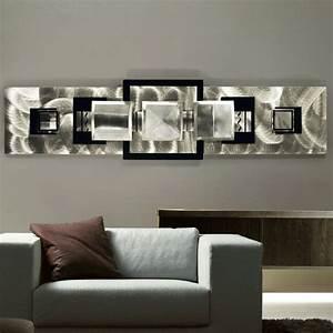 Applying Wall Art Decor for Living Room : Ideas of Wall