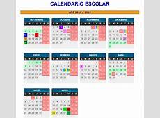 Calendario escolar de Aragón en el curso 20182019