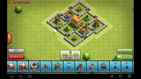 clash  clans awesome  clan war base tutorial