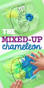 The Mixed-Up Chameleon Paint Mixing Activity - Munchkins ...