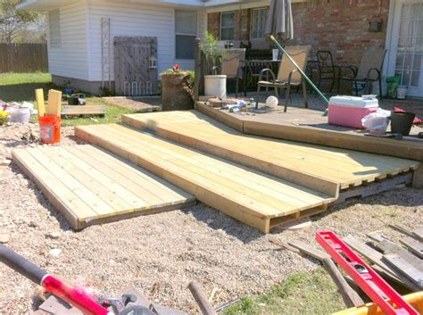how to build a patio remodelaholic build a wooden pallet deck for 300