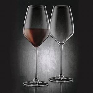 Verres à Vin Pas Cher : verres vin bordeaux en cristal x2 cadeau maestro ~ Teatrodelosmanantiales.com Idées de Décoration