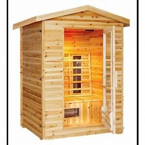 sunray burlington 2 person outdoor infrared sauna hl200d