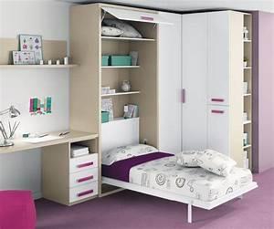 Lit Une Place Enfant : a la recherche d 39 un lit escamotable une place pas cher ~ Melissatoandfro.com Idées de Décoration