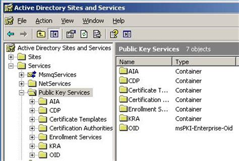 Active Directory Certificate Templates by How To Re Install The Default Certificate Templates