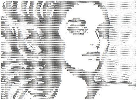 1000+ Ideas About One Line Ascii Art On Pinterest