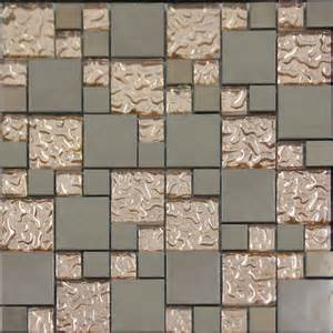 kitchen wall backsplash panels copper glass and porcelain square mosaic tile designs plated ceramic wall tiles wall kitchen