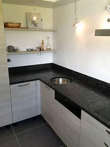 plan de travail en granit pour cuisine With granit pour plan de travail cuisine