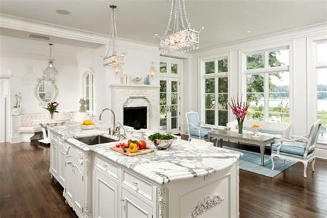 Turquoise Painted Kitchen Cabinets by Elegant White Kitchen Cabinets