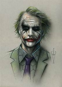 The Joker Pencil & Airbrush Drawing 12 x 18 Inch Artwork