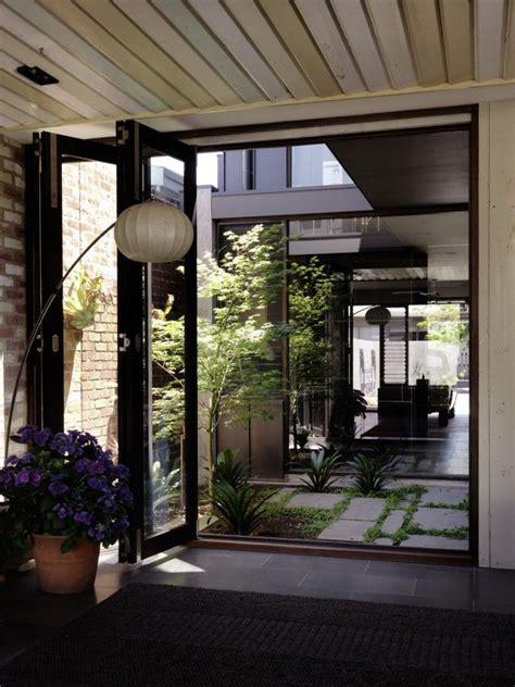 melbourne laneway house internal courtyard indoor
