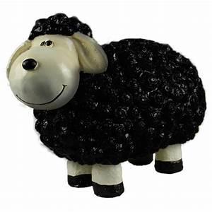 Große Tierfiguren Für Den Garten : s es deko schaf f r den garten schwarz tierfiguren schafe und ziegen ~ Indierocktalk.com Haus und Dekorationen