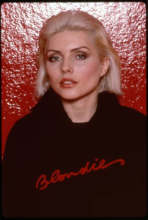 debbie harry turns      years page