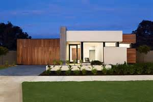 contemporary house plans single story really like the timber cladding flat roof and vertical