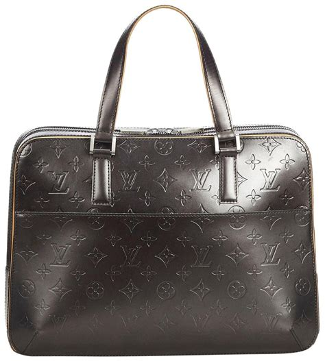 louis vuitton monogram mat malden black patent leather