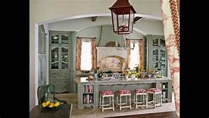 best shabby chic kitchen cabinets decorating ideas youtube With best brand of paint for kitchen cabinets with country wall art and decor