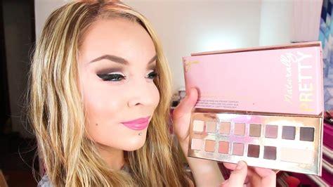 st impression   cosmetics naturally pretty palette vol youtube