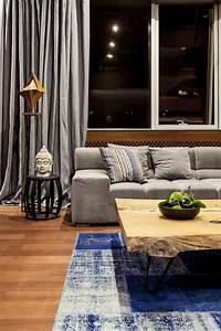 appartement contemporain d39inspiration thailandaise a kiev With tapis de couloir avec canapé contemporain design
