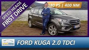 Ford Kuga 2017 St Line : 2017 ford kuga st line test 180 ps 2 0 tdci awd fahrbericht review speed heads youtube ~ Medecine-chirurgie-esthetiques.com Avis de Voitures