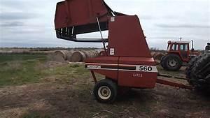 Hesston Model 560 Round Baler