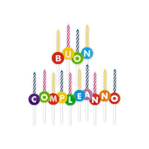 candele per torte di compleanno candeline buon compleanno