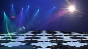 Virtual Dance Floor Disco Lights Background 1 - For Titles ...