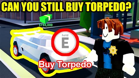 By using the new active jailbreak codes, you can get some free cash, which will help you to purchase better vehicles and gear. CAN YOU BUY a TORPEDO in SEASON 4??? | Roblox Jailbreak - YouTube