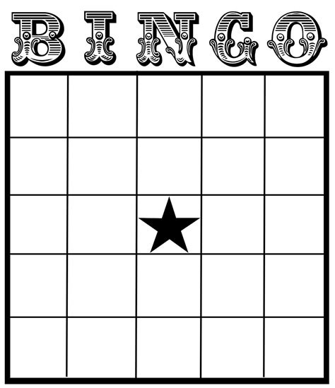 images  excel bingo card printable template