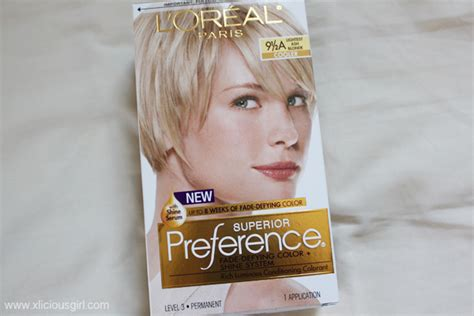 L'oréal Superior Preference Lightest Ash Blonde Hair Dye