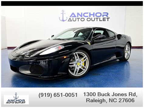 Clients can relax with an espresso while configuring their dream vehicle right in the dealership. USED FERRARI F430 2006 for sale in Raleigh, NC | Anchor Auto Outlet Inc