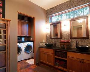 Master Bathroom Laundry Combo Home Design Ideas, Pictures