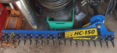 auger torque hc excavator mounted hedge trimmer  lydney gloucestershire gumtree