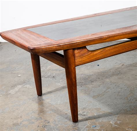 From glass, marble, and wood to coffee tables with storage — we've got options for whatever look you're pining for. Mid Century Modern Coffee Table American Martinsville Solid Walnut Wood Dania Surfboard Large ...