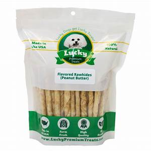 small dog peanut butter flavored treats lucky premium treats With lucky premium dog treats