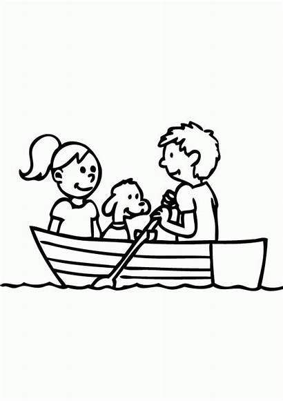 Row Boat Coloring Clipart Clip Popular Clipground